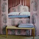 Katharine's Cushion on House & Garden November 2016 cover