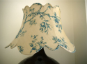 Silk double scalloped shade - picture 2