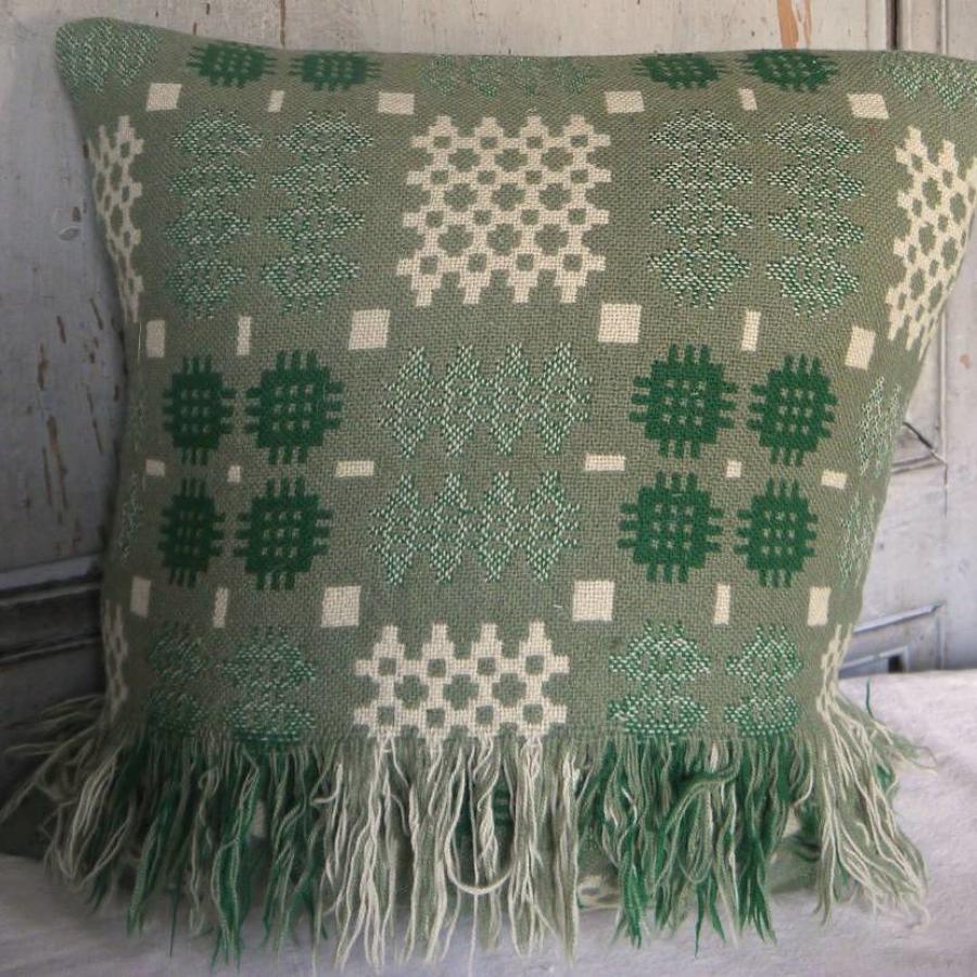 Welsh Blanket Cushion