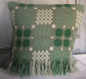 Welsh Blanket Cushion - picture 1