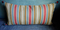 Pair of Striped Cushions - picture 2