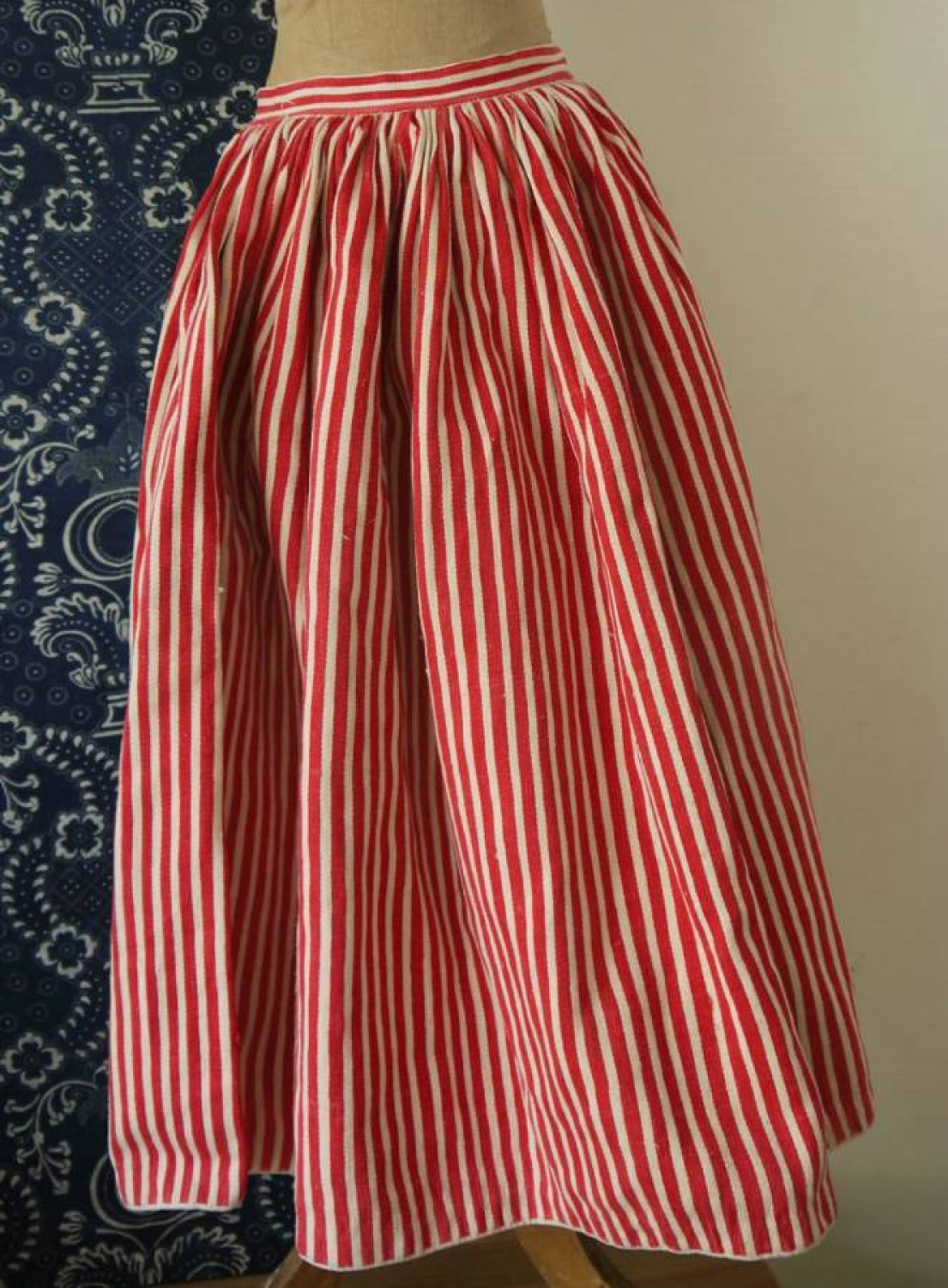 Red Striped Petticoat
