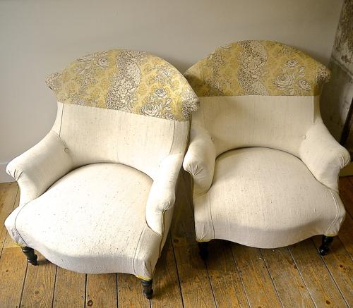 Pair of Napolean III Armchairs