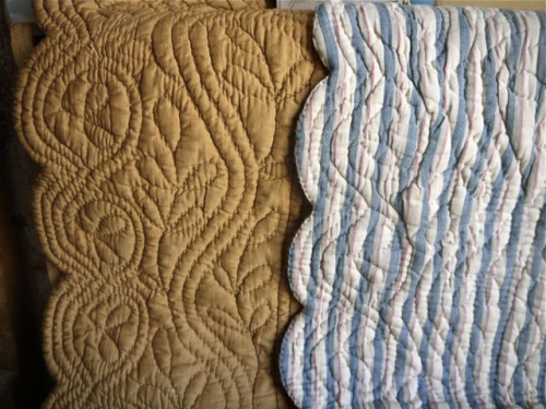 Scalloped quilt