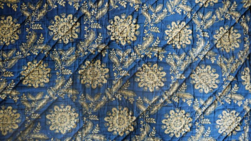 Saffron and Indigo Empire quilt