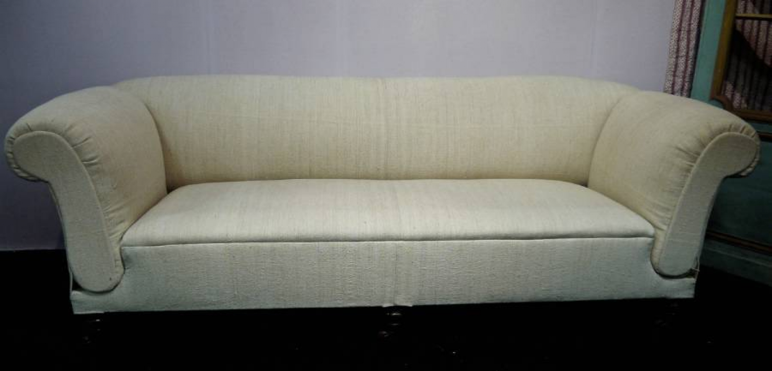 19th century Sofa with double drop ends