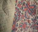 Pale Blue and Rose Quilt - picture 3