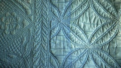 Pale Blue Quilt