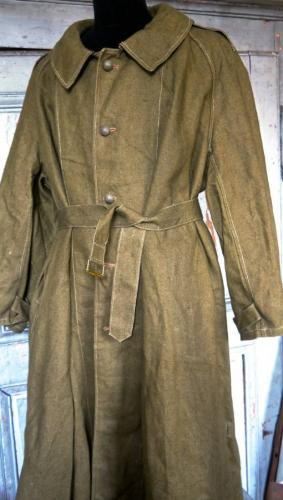 French Calvary man`s Coat