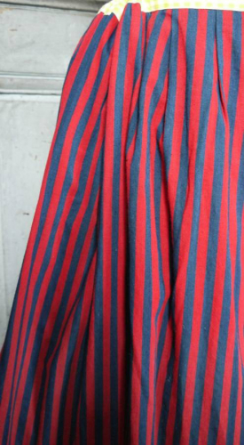 Scalloped petticoat
