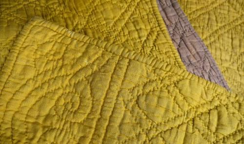 Saffron Yellow Quilt
