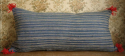 Striped Indigo Cushion - picture 1