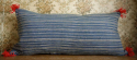 Striped Indigo Cushion - picture 4
