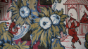 Chinoiserie printed linen - picture 1