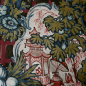 Chinoiserie printed linen - picture 3