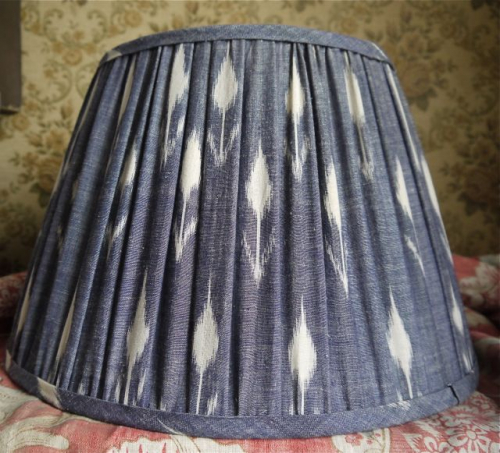 Indian cotton lampshade