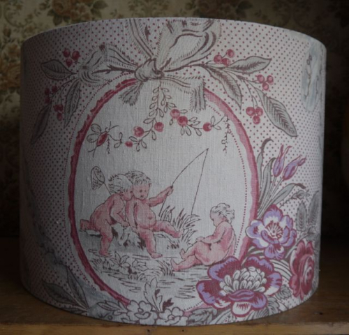 French linen lampshade