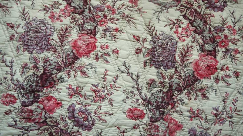 Rose Torsade Quilt