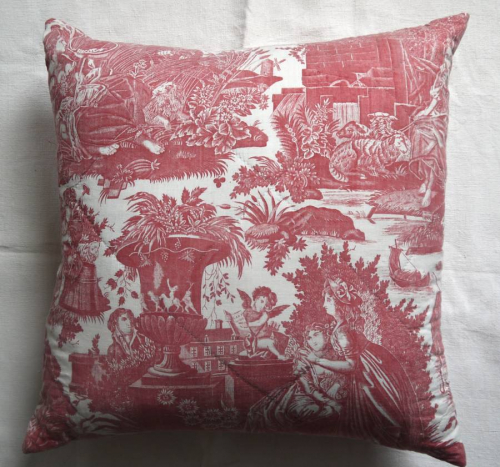Toile Cushion