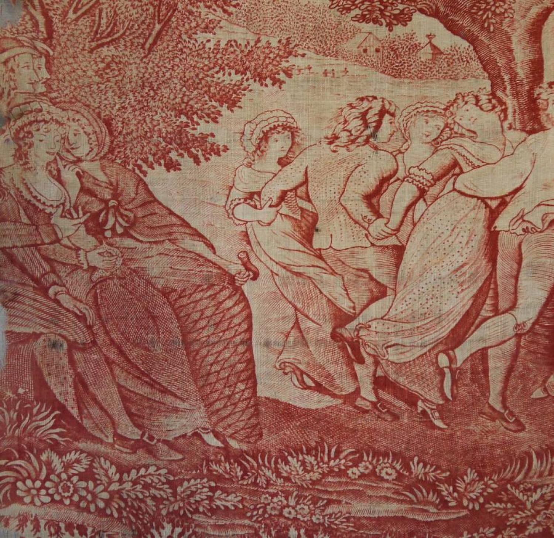 18th century English toile