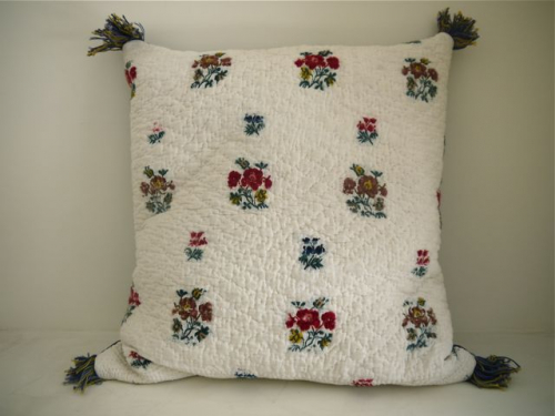 18th century cambrisene cushion