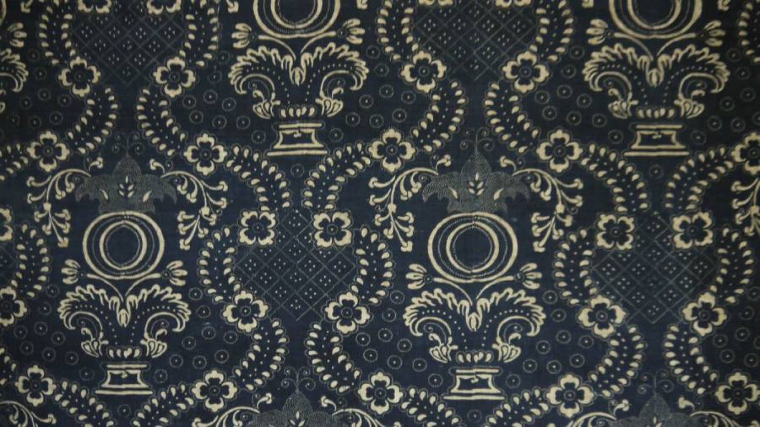 C1800 Toile de Nimes Indigo Resist Panel