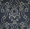 C1800 Toile de Nimes Indigo Resist Panel - picture 2
