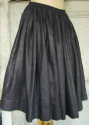 Glazed Indigo Skirt - picture 1
