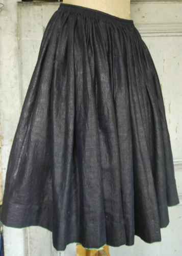 Glazed Indigo Skirt