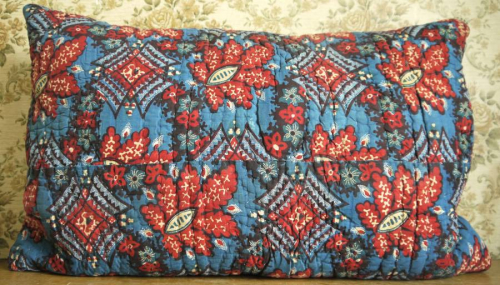 Pair of Block Printed Cushions