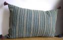 Indigo Striped Cushion - picture 1