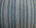 Indigo Striped Cushion - picture 2