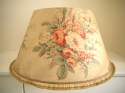 1920s English chintz lampshade - picture 2