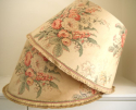 1920s English chintz lampshade - picture 3
