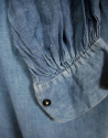 Faded Indigo Linen Biaude - picture 4