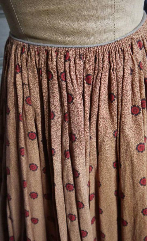 Printed cotton petticoat