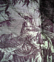Purple Toile Pelmets - picture 3
