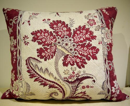 'La Cornue Fleurie' 18thc French Cushion