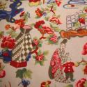 Vintage French Printed Cotton Chinoiserie - picture 4