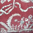 19th century French Printed Velvet Cushion - picture 3