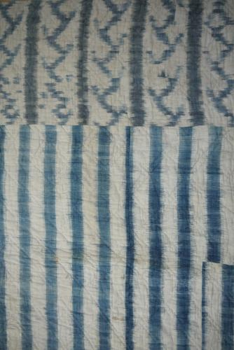 18th century French Blockprinted Quilt