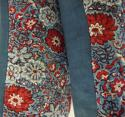 Pair of Red and Blue Blockprinted  Cushions - picture 3