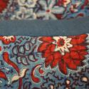 Pair of Red and Blue Blockprinted  Cushions - picture 5