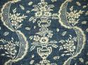 18th century French Indigo Resist Quilt - picture 1
