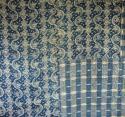 18th century French Indigo Resist Quilt - picture 2