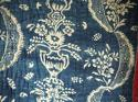 18th century French Indigo Resist Quilt - picture 3