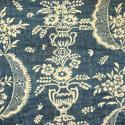 18th century French Indigo Resist Quilt - picture 7