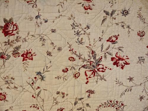 18th century French Scalloped Square