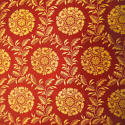 French Empire Saffron Cotton Panel - picture 6