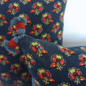 Pair of Antique Indigo Resist Cushions - picture 3